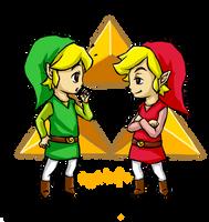 Legend of Zelda: Toon Link ~Identical~ by Angels-Leaf