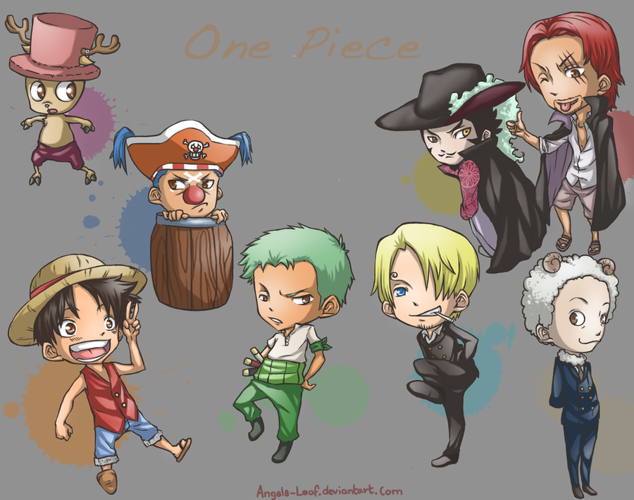 One Piece: Chibi Time by Angels-Leaf