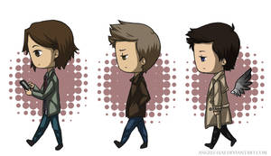 SPN: On the Road Again by Angels-Leaf