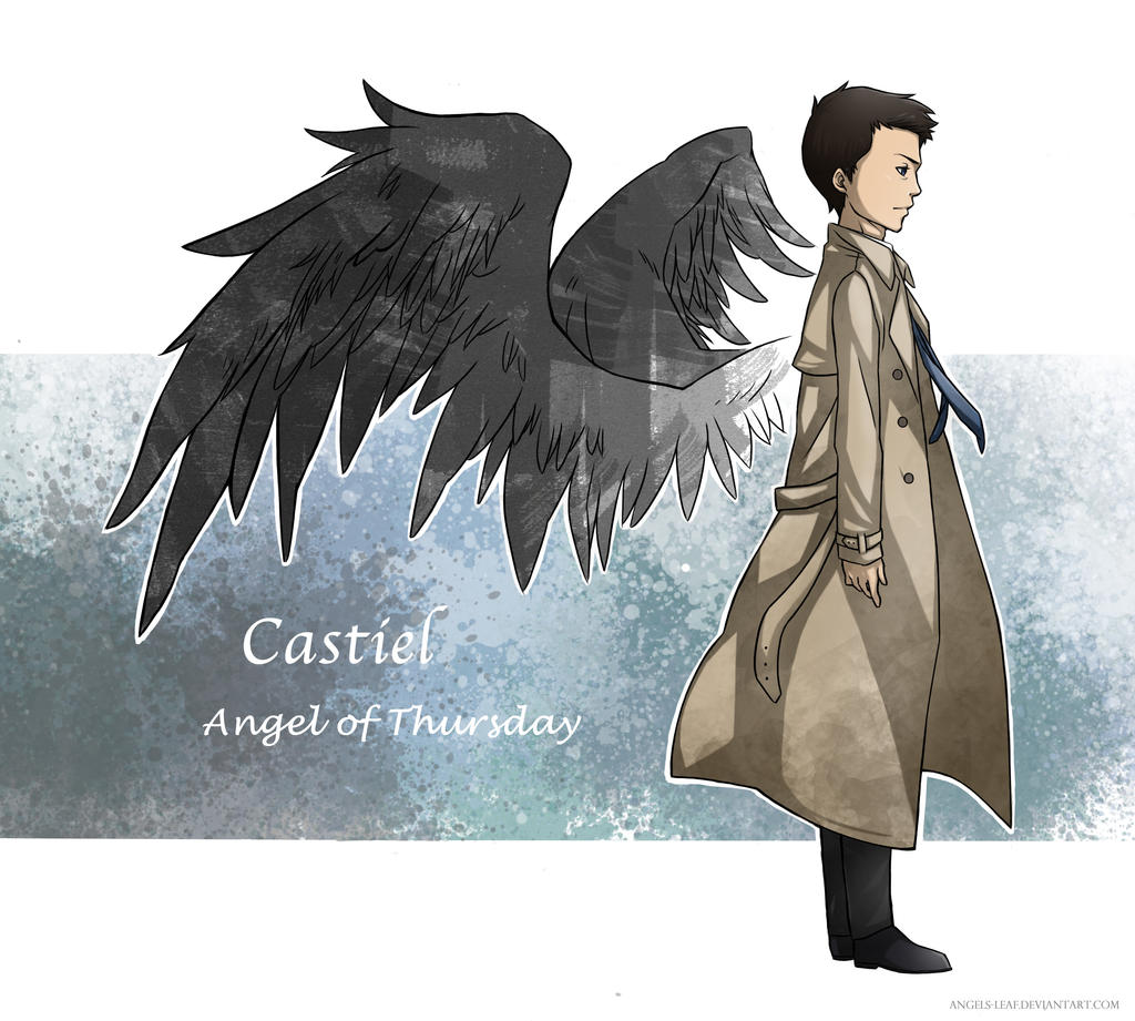 SPN: Castiel by Angels-Leaf