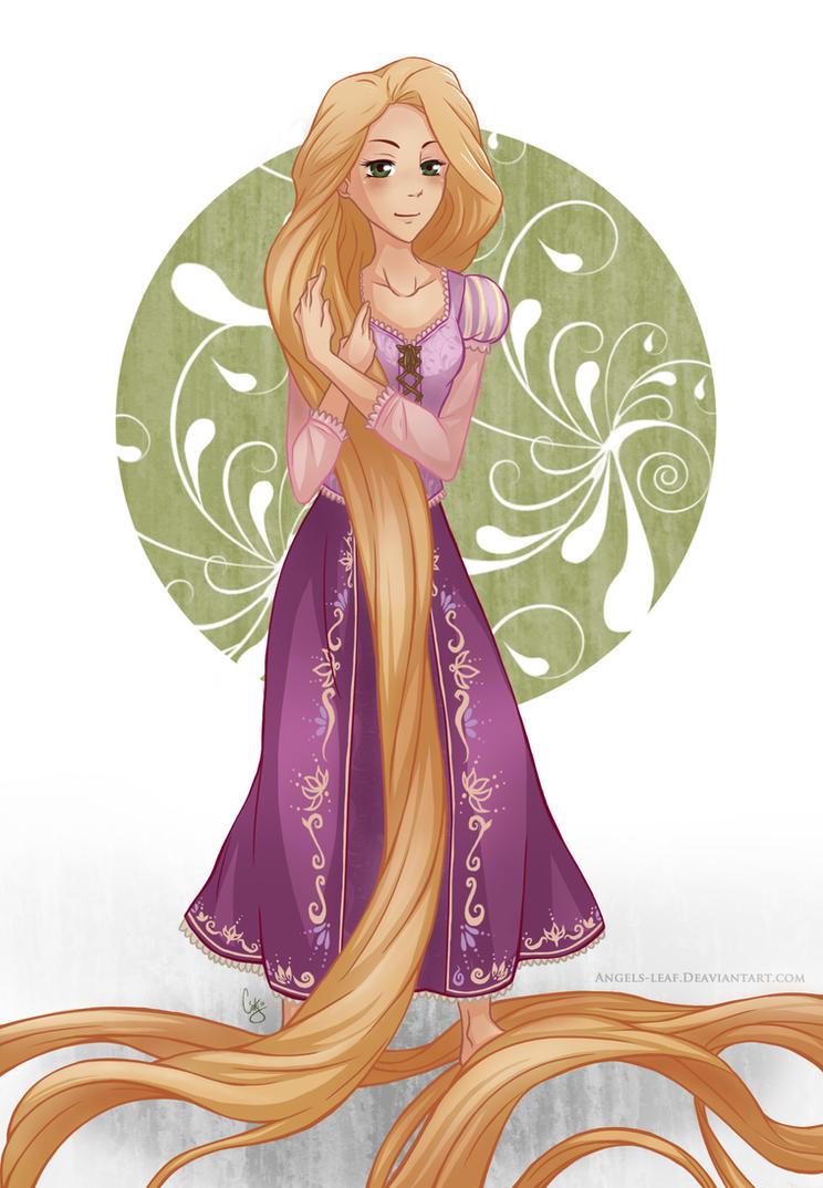 Disney: Rapunzel by Angels-Leaf