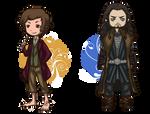 The Hobbit: Bilbo and Thorin