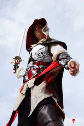 Cosplay: Ezio - Assassin's Creed by Angels-Leaf