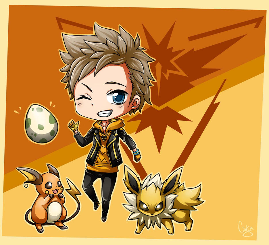 Spark TEAM INSTINCT - Pokemon GO by Angels-Leaf