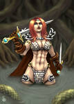 Red Sonja by Spacegryphon