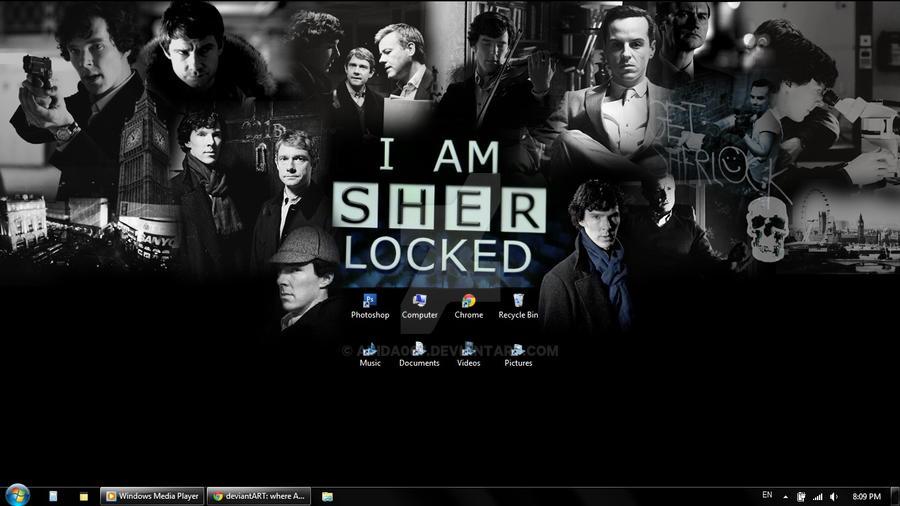 i am sherlocked wallpaper desktop