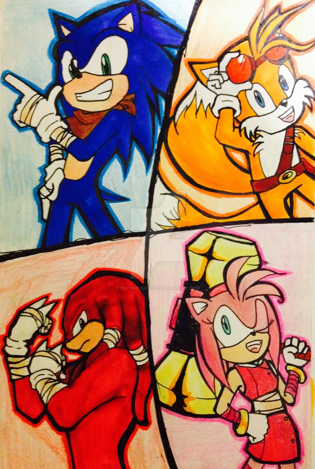 Sonic Boom by Psyche-Angel