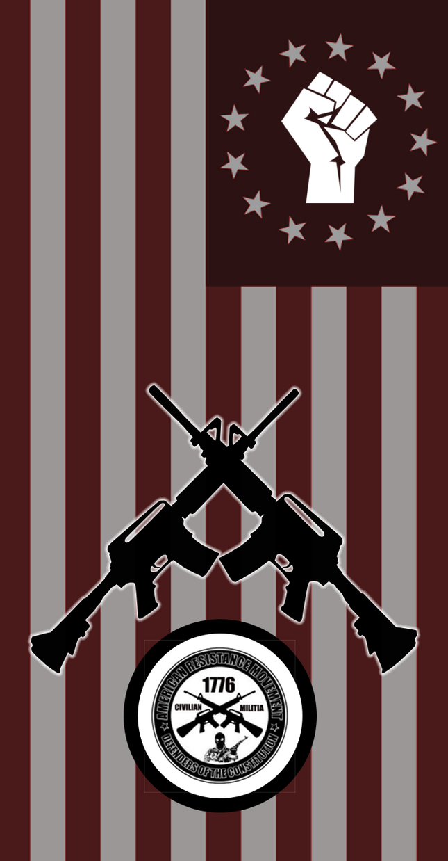 American Resistance Movement Flag1 by Amaranth7777