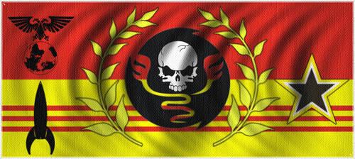 Battle Flag 16 by Amaranth7777