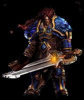Varian Wrynn Render by Gloryfied1