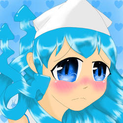 Embarrassed Squid Girl