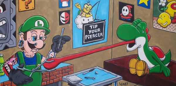 Super Mario Slingdown 2: Luigi by Prota-J