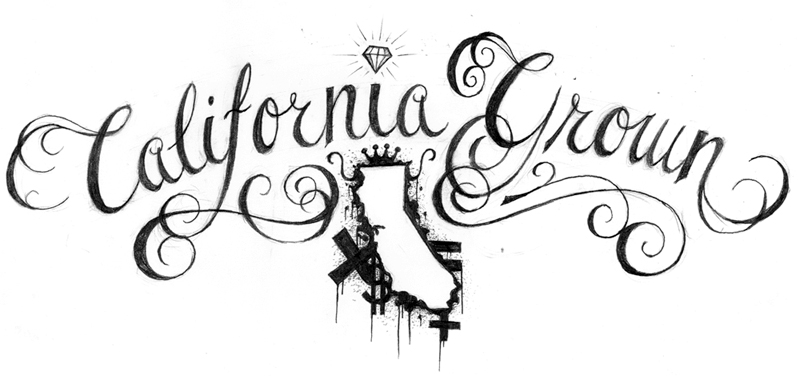 california sketch pictures to pin on