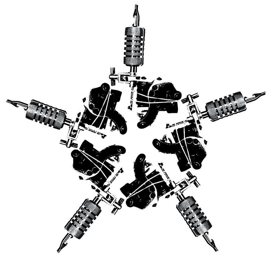 Tattoo Machine Star by Prota-J