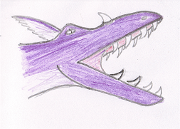 Purple Dragon by fatmandell