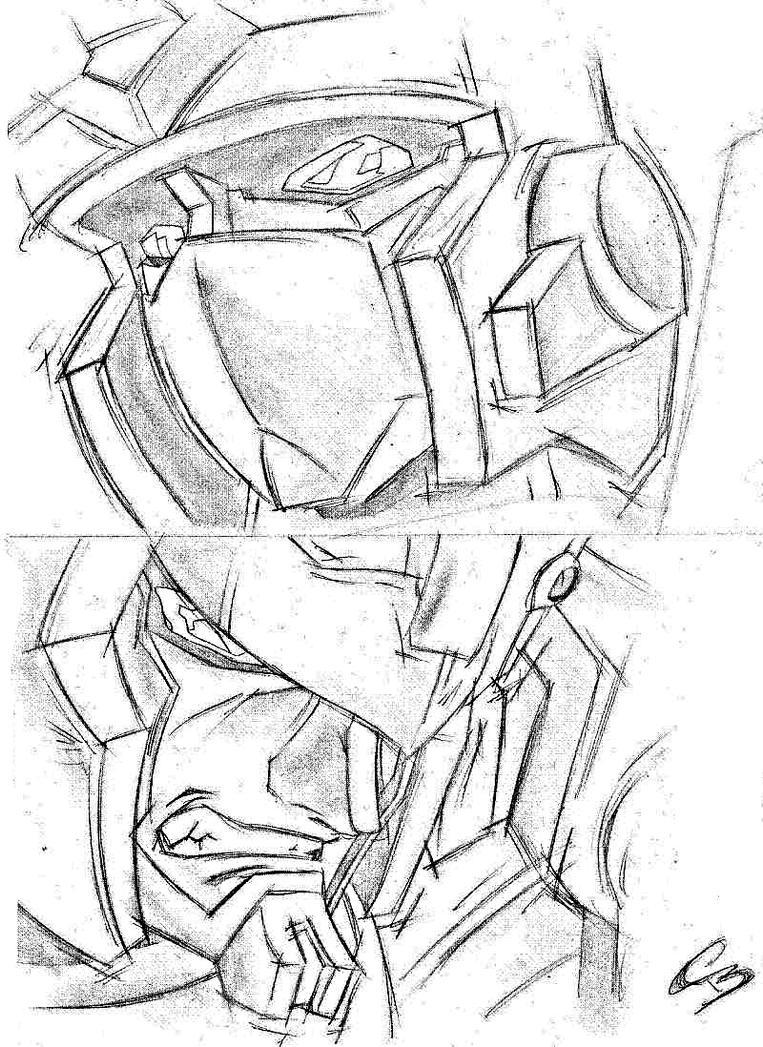 Armada Prime and Megatron by Deceptigirl
