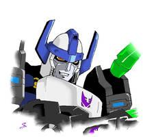Energon Megatron by SasaTheEvil
