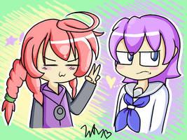 Syura And Nanako Outfit Exchange