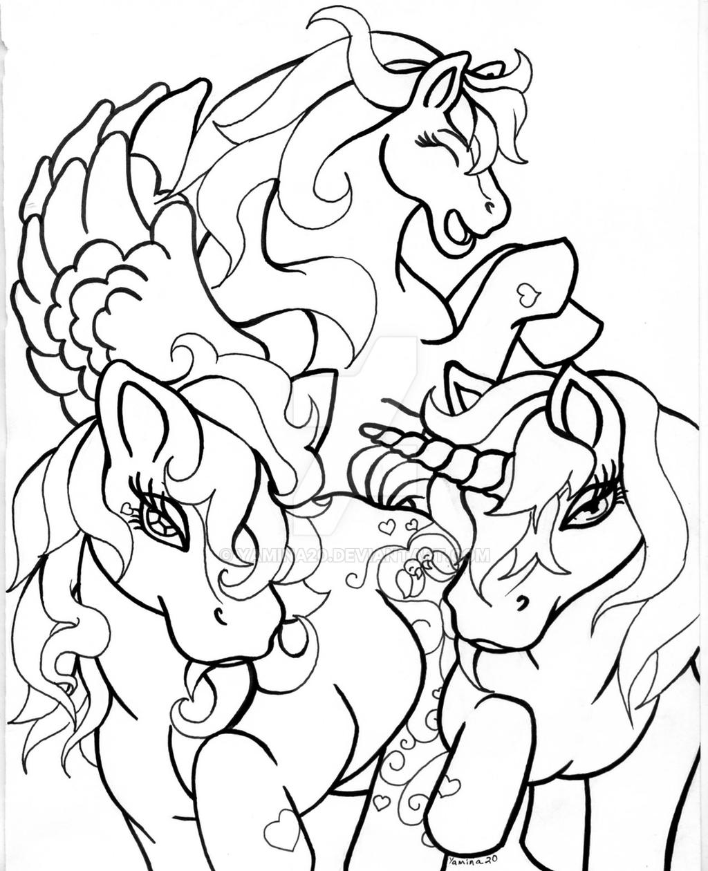 my little pony coloring page by yamina20 on deviantart
