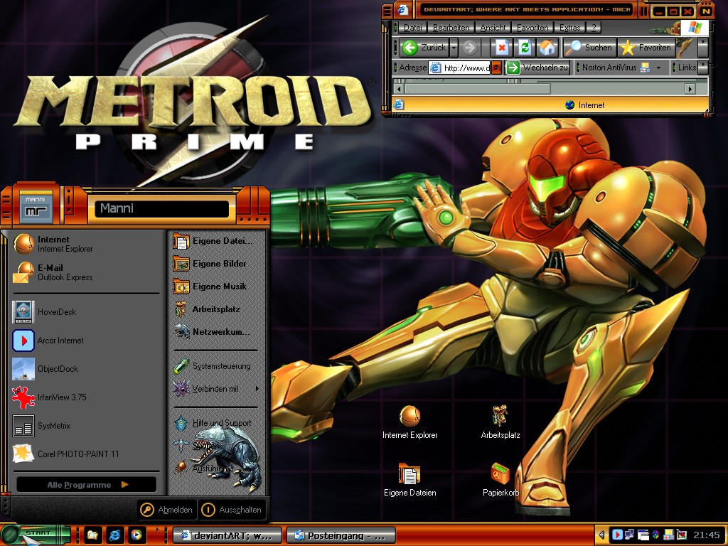 1024x768 Metroid Samus Aran desktop PC and Mac wallpaper