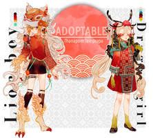 [Closed] Lion Boy/ Dragon Girl