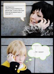 Durarara - Sex on the phone by kayleighloire