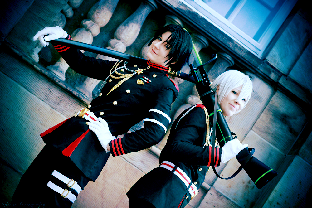 Guren and Shinya - Double Trouble by kayleighloire