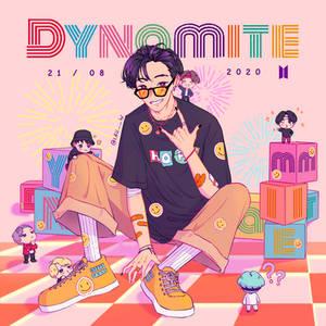 BTS Dynamite Fanart