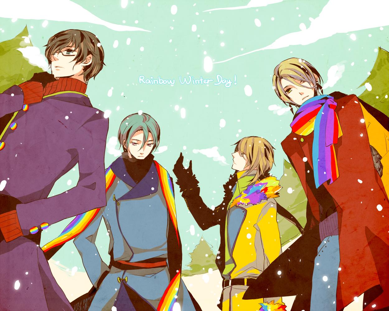 GoA: Rainbow Winter Day by Zukizaki
