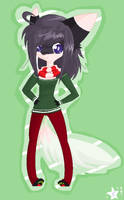 Christmas Furry by coffaefox