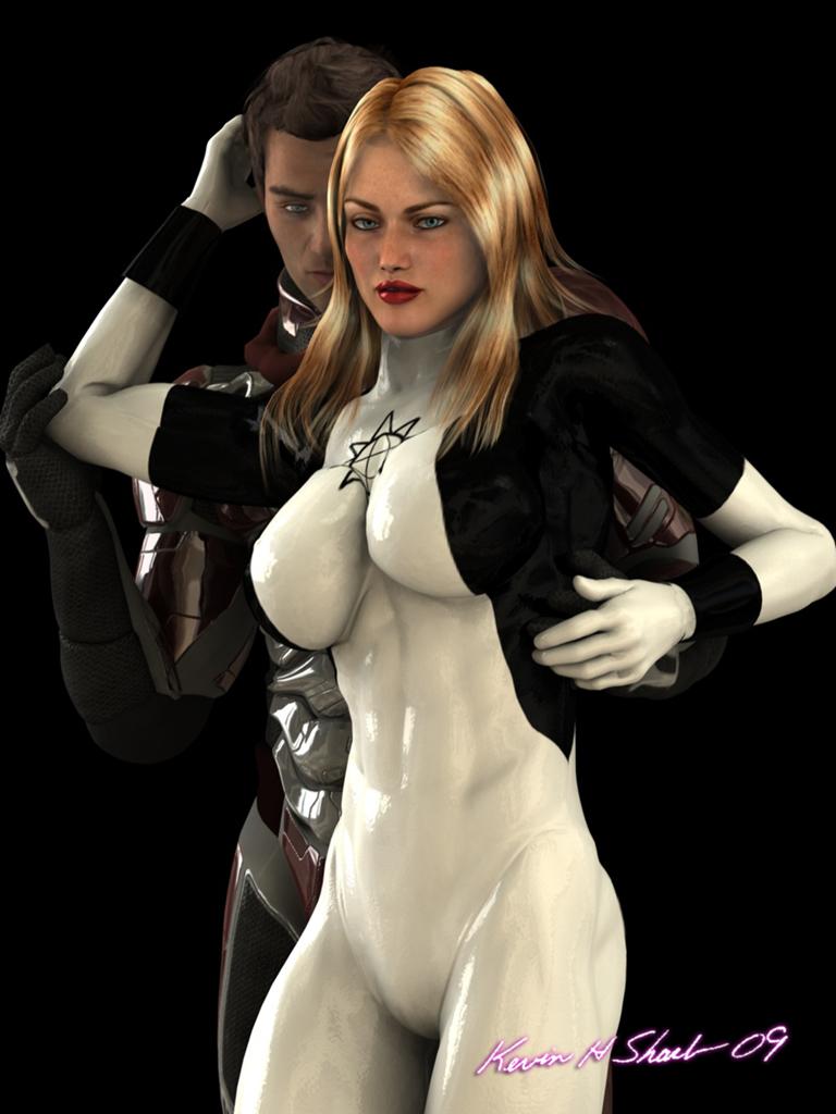 Ultrawoman-Red Widower by U1trawoman