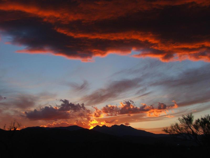 4 Peaks Sunset by dozalt