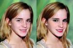 Emma Watson digital makeover 3