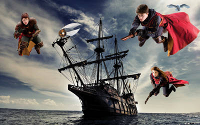 Pirate Quidditch by CaptainSwanForever