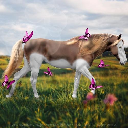 Horse Heaven Chestnut Mare