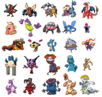 Pokemon fusion collection