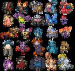 Pokemon fusion collection