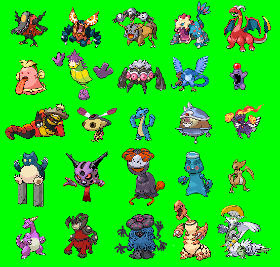 Recolors Amp Fusions Thread Page 3 The Pok 233 Community Forums