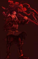 Salty Warrior - progress by MrMonday