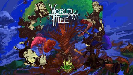 WorldTree 1920Wall by MrMonday