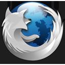 Firefox - Blue Silver