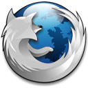 Firefox - Blue Silver by squirminator2k