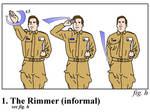 Red Dwarf - Rimmer salute