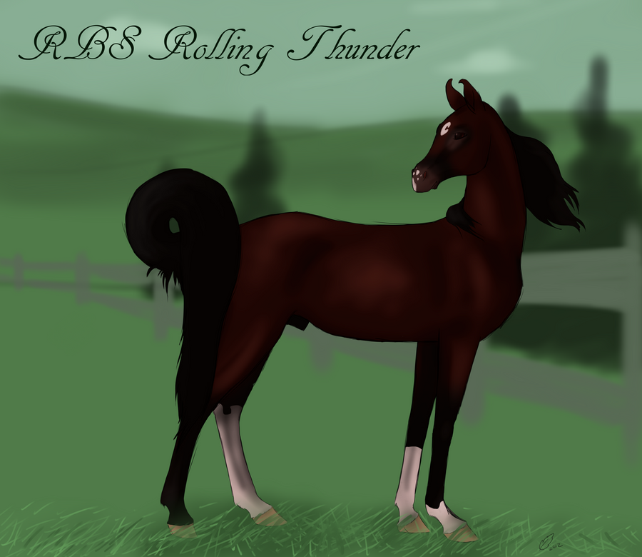 RBS Rolling Thunder by Redfeathyrs