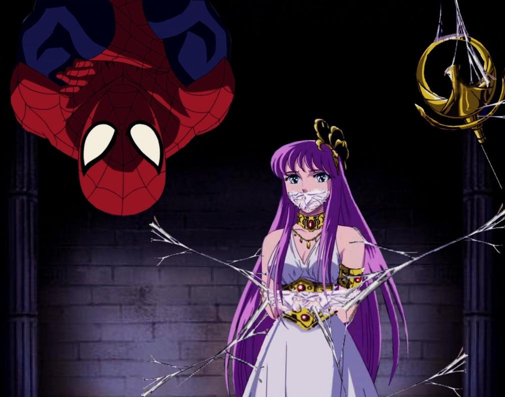 Fnaf Kidnapped Princess Deviantart: Saori Captured Webbed 2 By Jokerht On DeviantArt