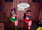 Sailor jupiter and Sailor mars in trouble (Part 2)