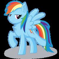Rainbow Dash by Arcane-Thunder