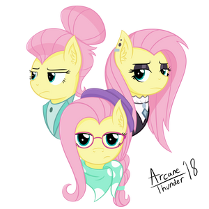 The Many Faces of Fluttershy