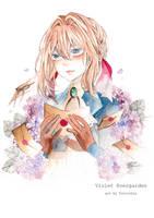 Violet Evergarden  by furicchin