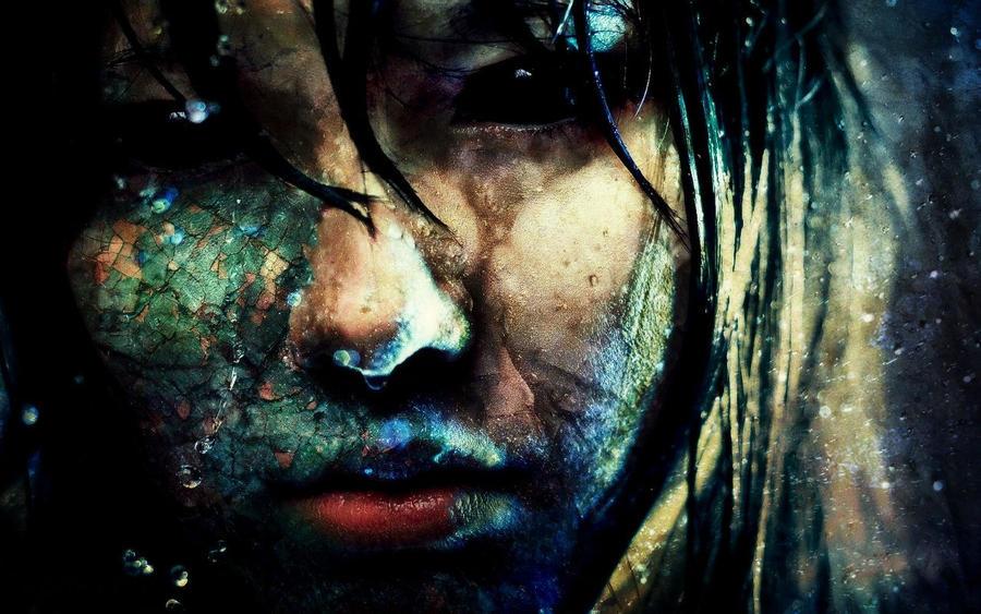 girl by zombiezombie72